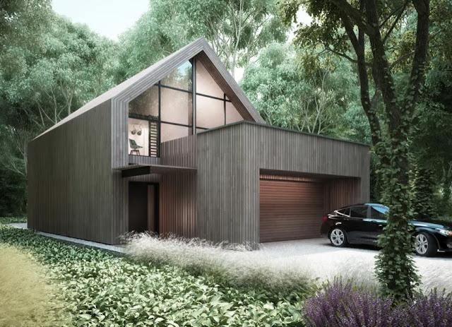 Nowoczesny dom - najpiękniejsze, gotowe projekty!