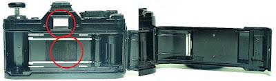 Canon AE-1 (Black) Body #597