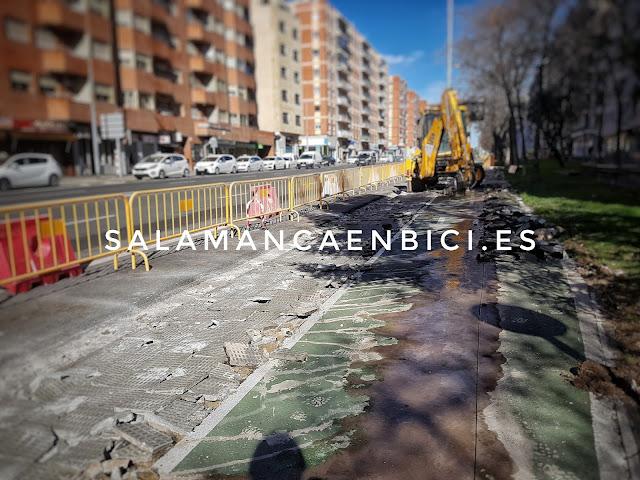 Salamanca, carril bici, bicicleta
