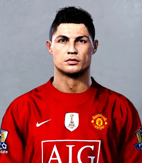 PES 2020 Faces Cristiano Ronaldo ( 2008 ) by LR7