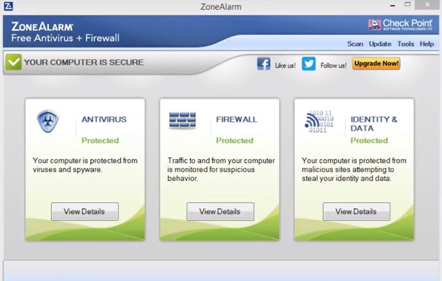 Check Point ZoneAlarm Free Antivirus