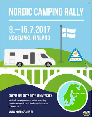 International Camping Rally, Finland, 2017