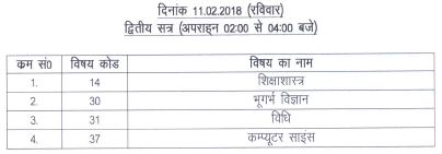 image : UKPSC Assistant Professor Exam Schedule 2018 : 2nd Phase Time Table (ii) @ TeachMatters