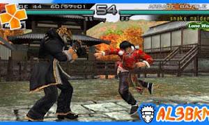 تحميل لعبة Tekken 5 psp iso مضغوطة لمحاكي ppsspp