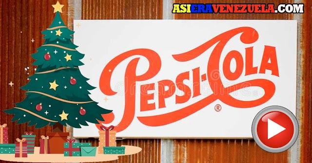 Las cuñas de Navidad de PEPSI de los años 80