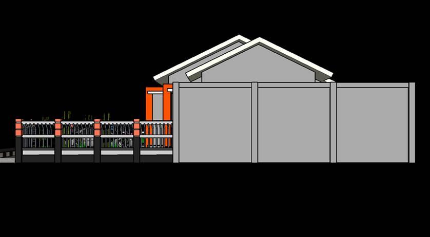Gambar rumah modern trap 3 teras minimalis paling keren kekinian