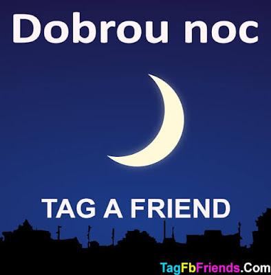 Good Night in Czech language