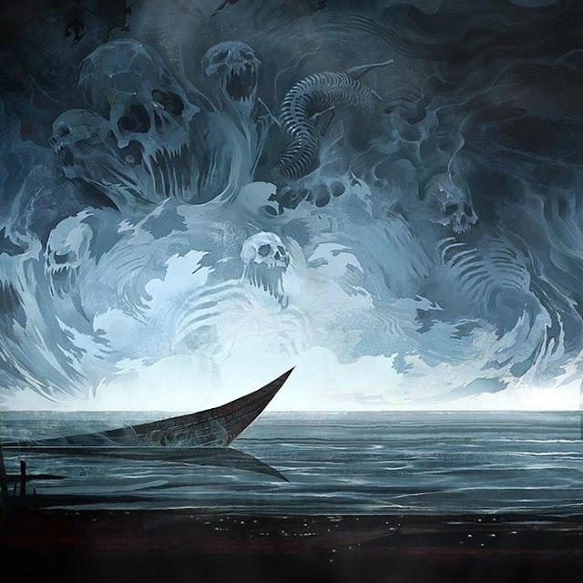 Foggy Dark Skull Souls Wallpaper Engine