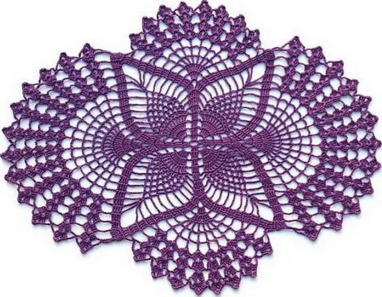 Crochet Doilies - Crochet Patterns - Pineapple Doilies