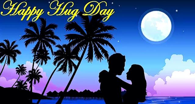 Hug day status images