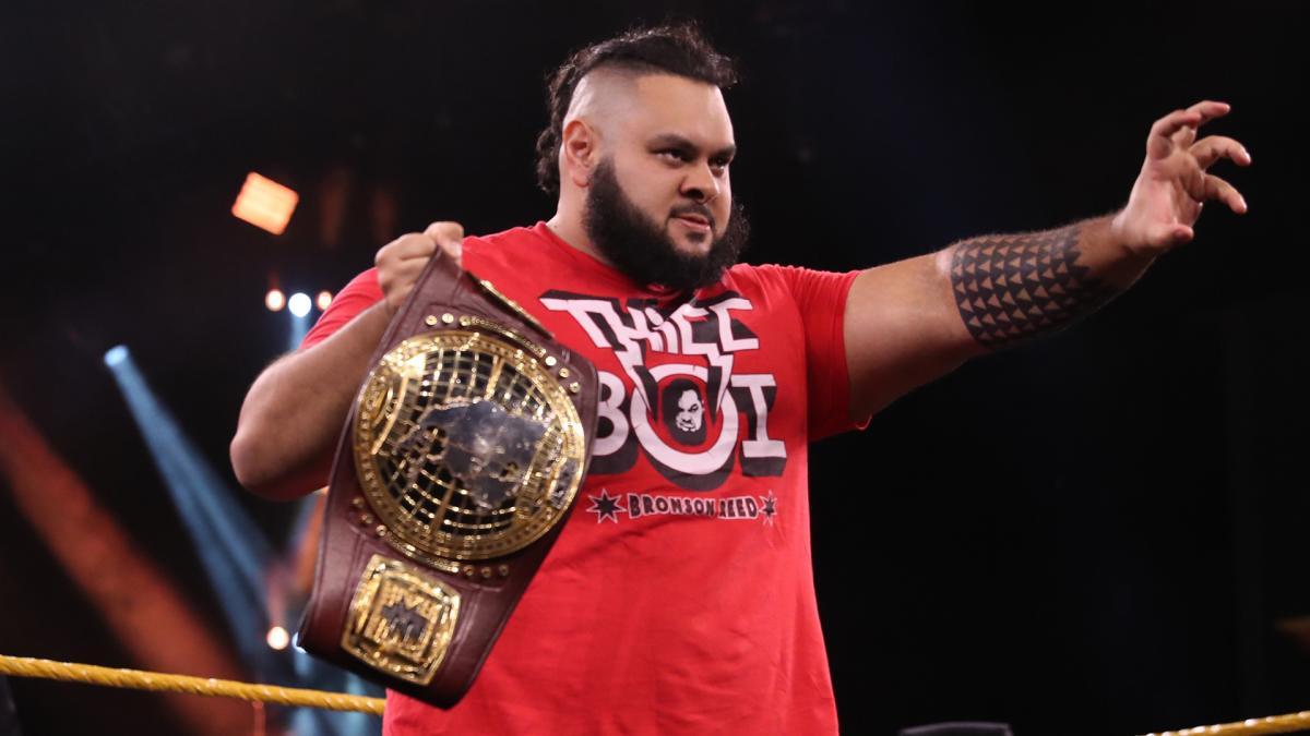 Bronson Reed quebra o silêncio sobre sua saída da WWE