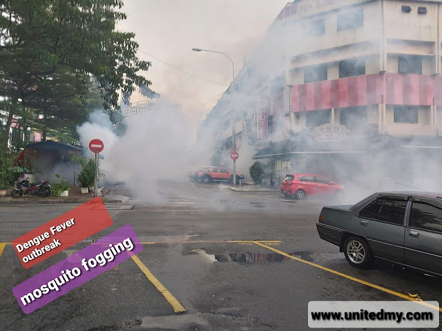 Mosquito fogging during MCO/PKP 2020