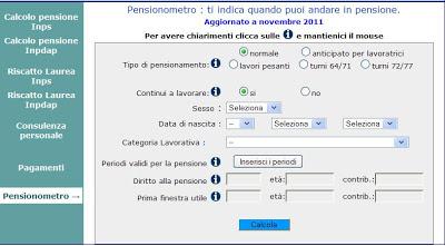 Pensioni italiani: due su tre percepiscono 750 euro al mese