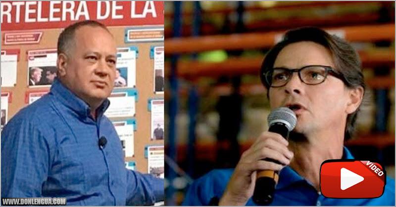 Diosdado amenaza a Lorenzo Mendoza de Empresas Polar