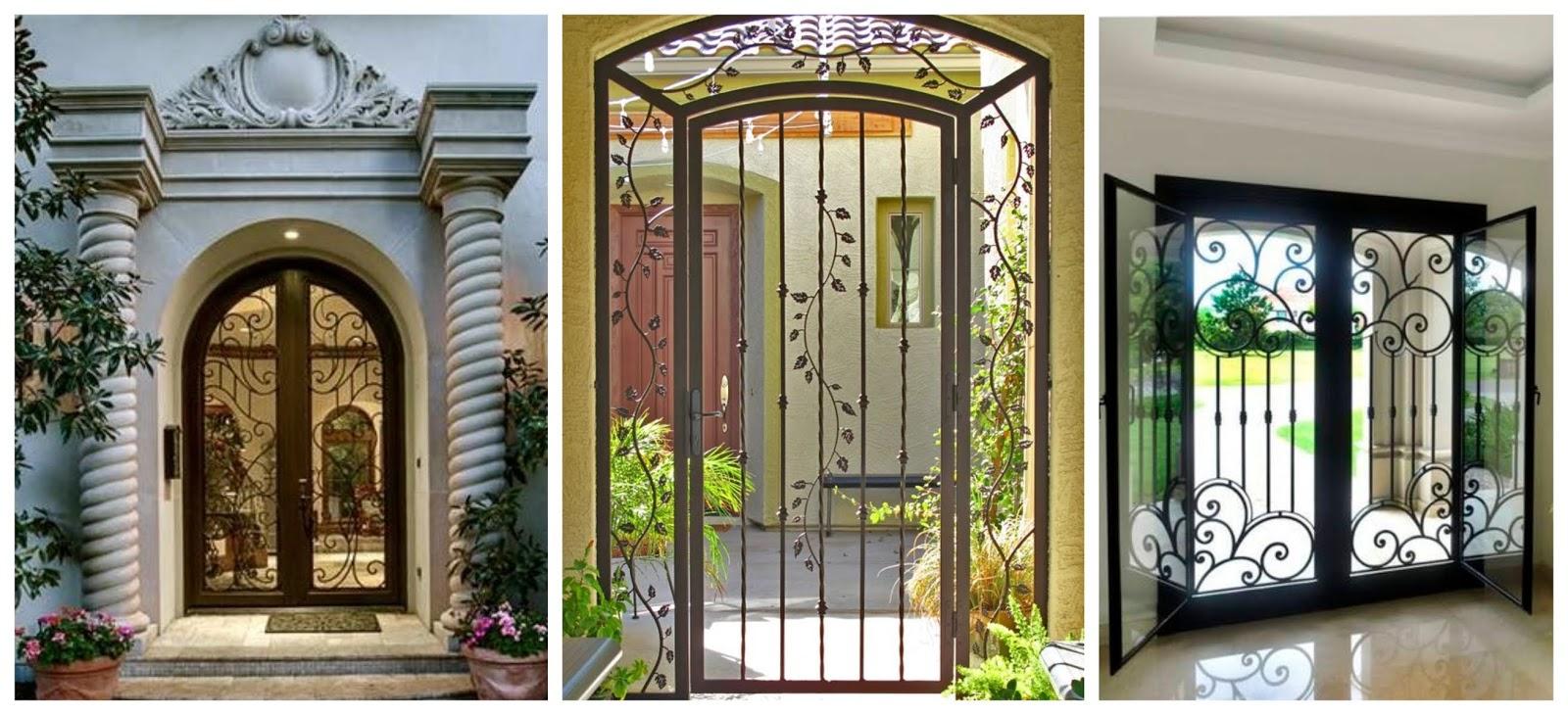 15 ideas de portones y rejas decorativos para tu casa - Rejas decorativas ...
