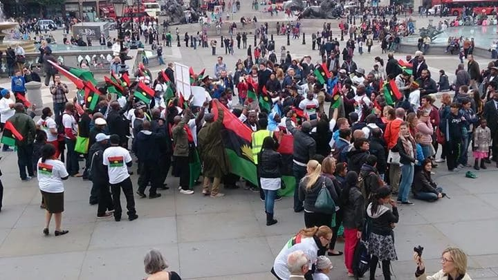 "IPOB To President Buhar: ""We'll Break-Away With Every Part Of Biafra"""