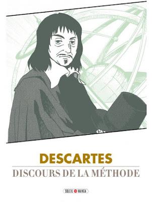 couverture du Discours de la méthode par Decartes chez Soleil Manga