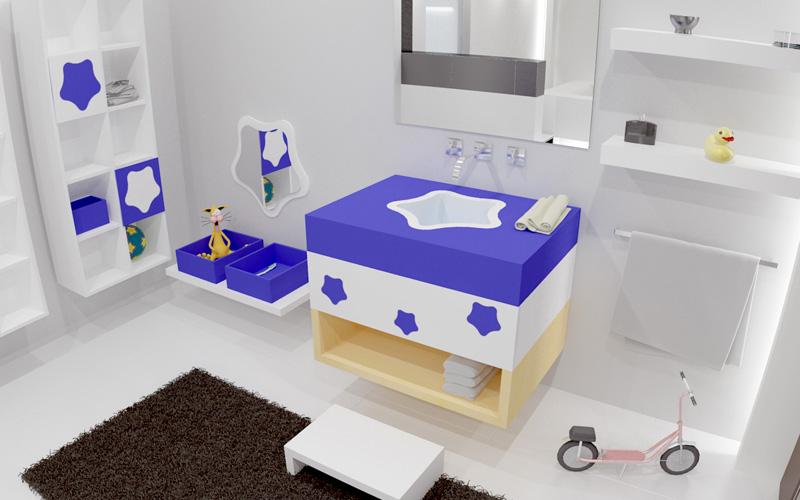 Cómo decorar un baño para niños (I)