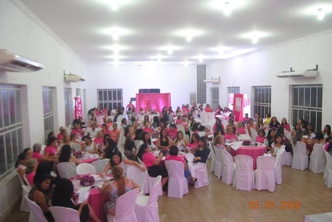 I° igreja Batista de Pedreiras organiza chá para mulheres.......
