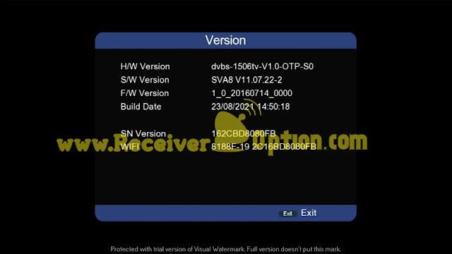 NEOSAT NS-1506HD BUILT IN WIFI NEW SOFTWARE WITH INTERNAL & EXTERNAL WIFI OPTION 23 AUGUST 2021
