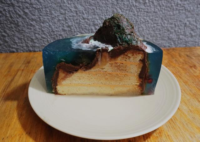 Pastel TENDENCIA 2020 Island Cake