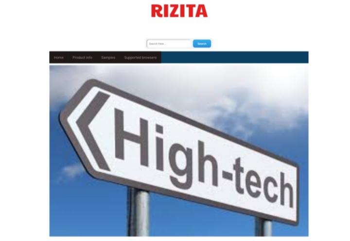 how to setup rizita blogger template