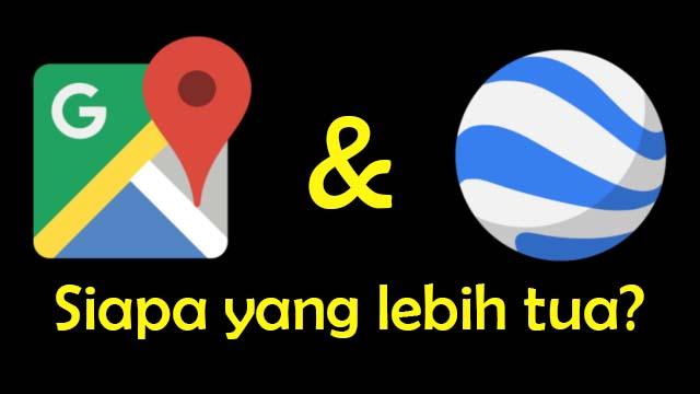 Sejarah Google Maps dan Google Earth