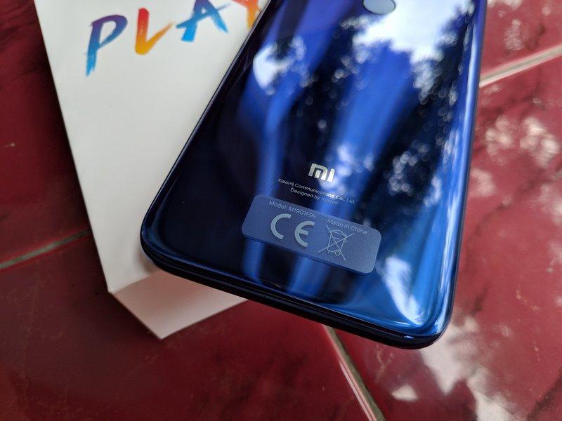 Desain Xiaomi Mi Play