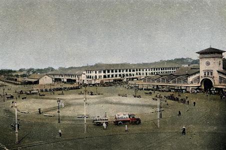 Chợ Bến Thành xưa -công trường Cuniac thời Pháp thuộc