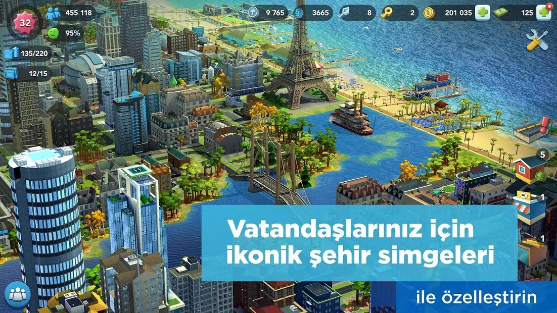 SimCity BuildIt Sınırsız Para Hileli APK 2020