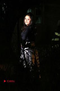 Actress Sonia Agarwal Stills in Black Top at Yevanavan Tamil Movie Audio Launch Event  0017.jpg