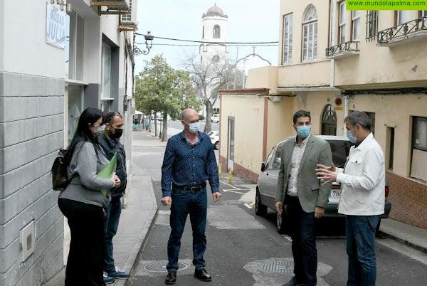 Comienzan las obras de remodelación de la calle Príncipe Felipe de San Andrés y Sauces