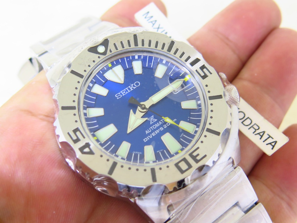 SEIKO DIVER BLUE MONSTER - SEIKO SBDC067 - AUTOMATIC 6R15