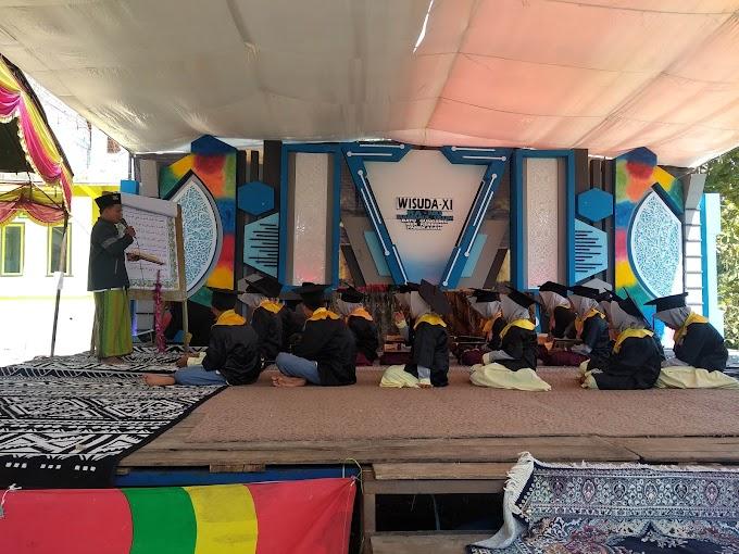 18 Peserta Demontrasi MD RA Mambaul Ulum Batu Gungsing Resmi di Wisuda