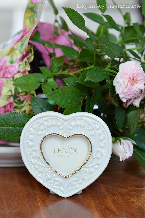 Lenox Heart Frame