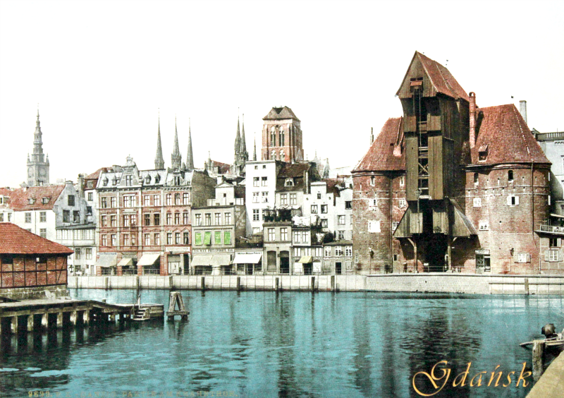 Gdańsk na pocztówce