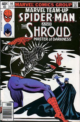 Marvel Team-Up #94, the Shroud and Spider-Man