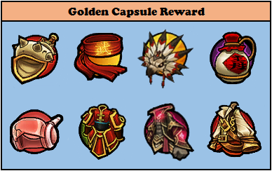 Golden Capsule Reward Lost Saga Indonesia