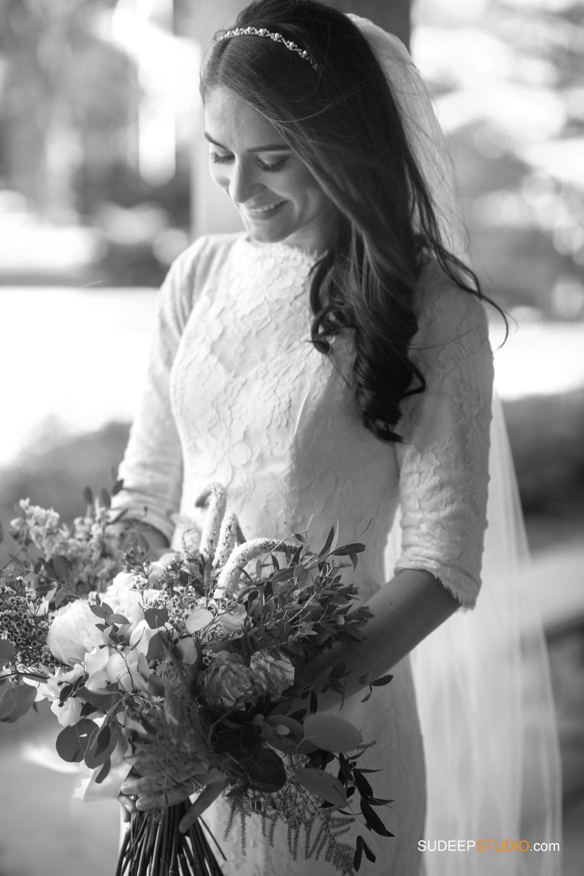 Gorgeous Jewish Wedding Bride Photography Chabad House by SudeepStudio.com Ann Arbor Wedding Photographer
