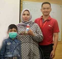 Arkhan, Anak SD Survivor Leukemia Lymphoblastic