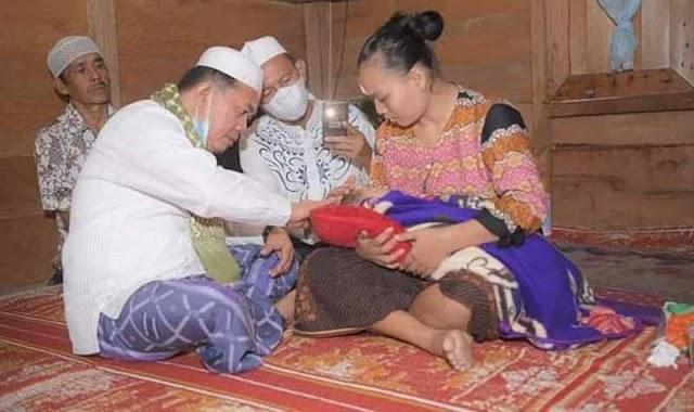 Bupati Merangin Al Haris, Jenguk Bocah Penderita Sakit Mata Bernanah