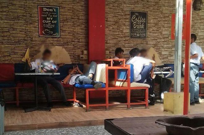 Miris! Bolos Sekolah, 7 Siswa di Bone Kedapatan Nongkrong di Cafe