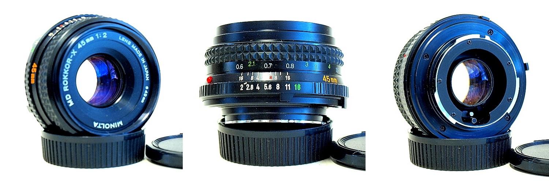 Minolta MD Rokkor-X 45mm 1:2 #008