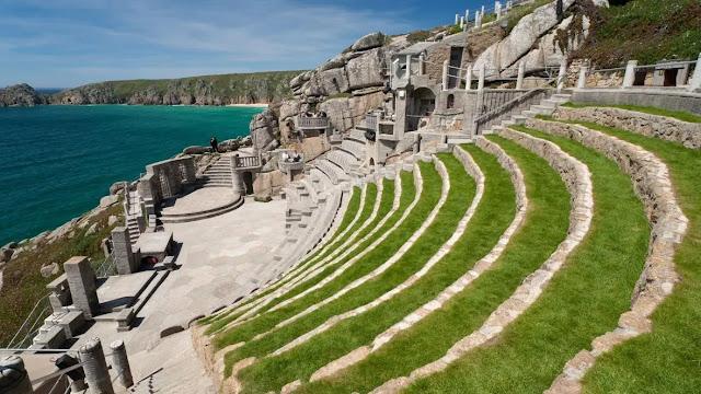 Minack Open Air Theatre cornwall uk