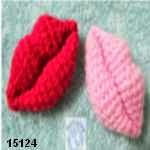 patron gratis labios amigurumi, free amigurumi pattern lips