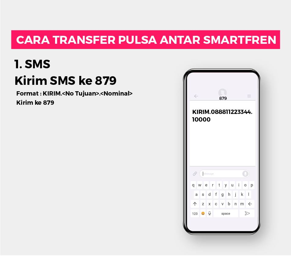 Transfer Pulsa Antar Smartfren 1