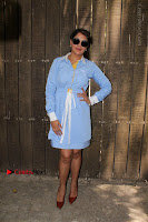Richa Chadda Latest Pos in Blue Short Dress at the Screening Of Short Film Khoon Aali Chithi  0006.jpg