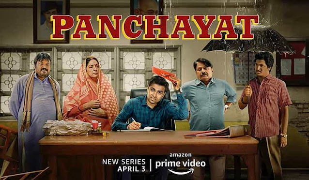 Poster of Panchayat Web Series Season 1 on Amazon Prime Review