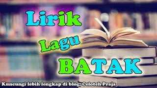 Lirik Lagu Batak, Gabe Marbahir Ma Holong Ni Rohangku |Arvindo Simatupang Feat Jonar Situmorang