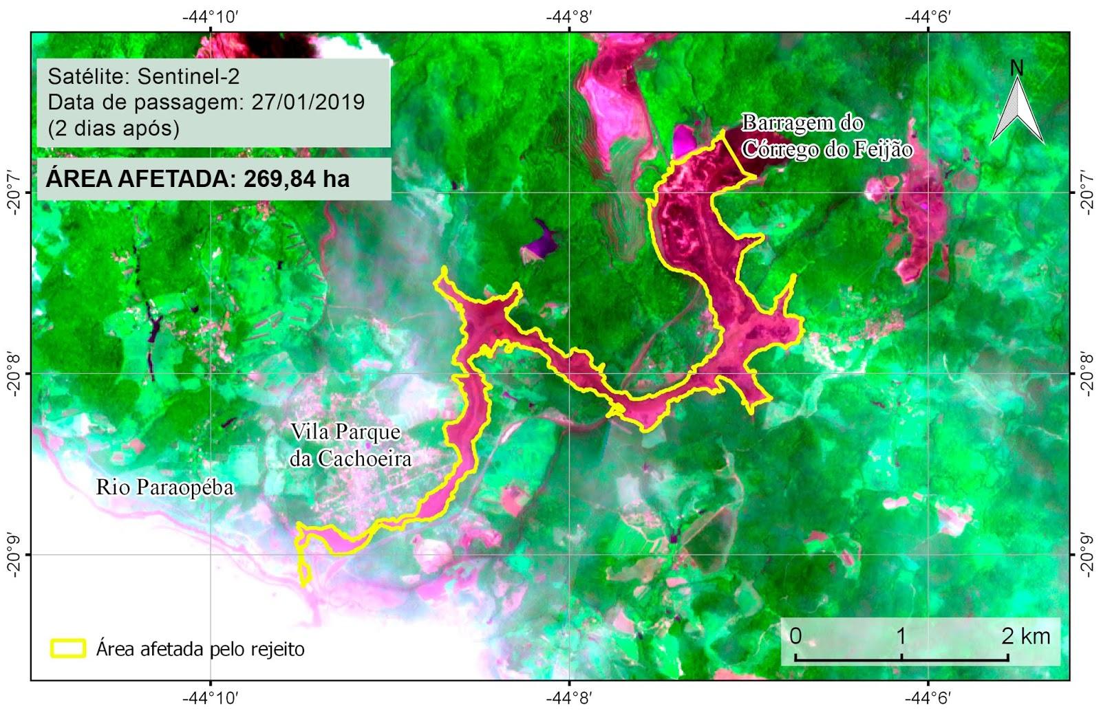 Brasilia (30 01 2019) - Dados preliminares obtidos por meio de imagens de  satélite indicam que o rompimento de barragem da mineradora Vale em  Brumadinho ... ecdee261d8